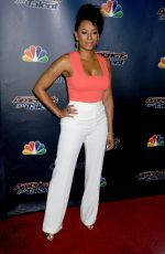 MELANIE BROWN at America's Got Talent Post-Show Red Carpet in New York 08/26/2015