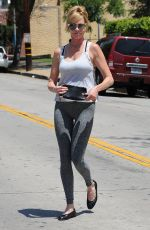 MELANIE GRIFFITH in Tights Out in Beverly Hills 07/31/2015