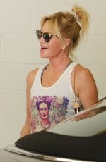 MELANIE GRIFFITH Leaves a Gym in Beverly Hills 08/13/2015