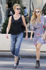 MELANIE GRIFFITH Out Shopping in New York 08/28/2015