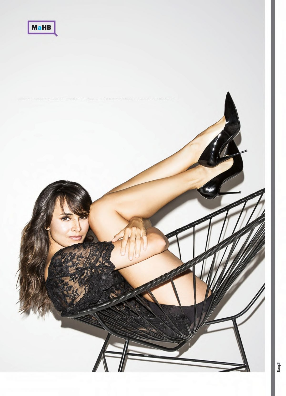 MIA MAESTRO in Esquire Magazine, September 2015 Issue