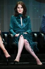 MICHELLE DOCKERY at Downton Abbey 2015 TCA Summer Tour in Beverly Hills