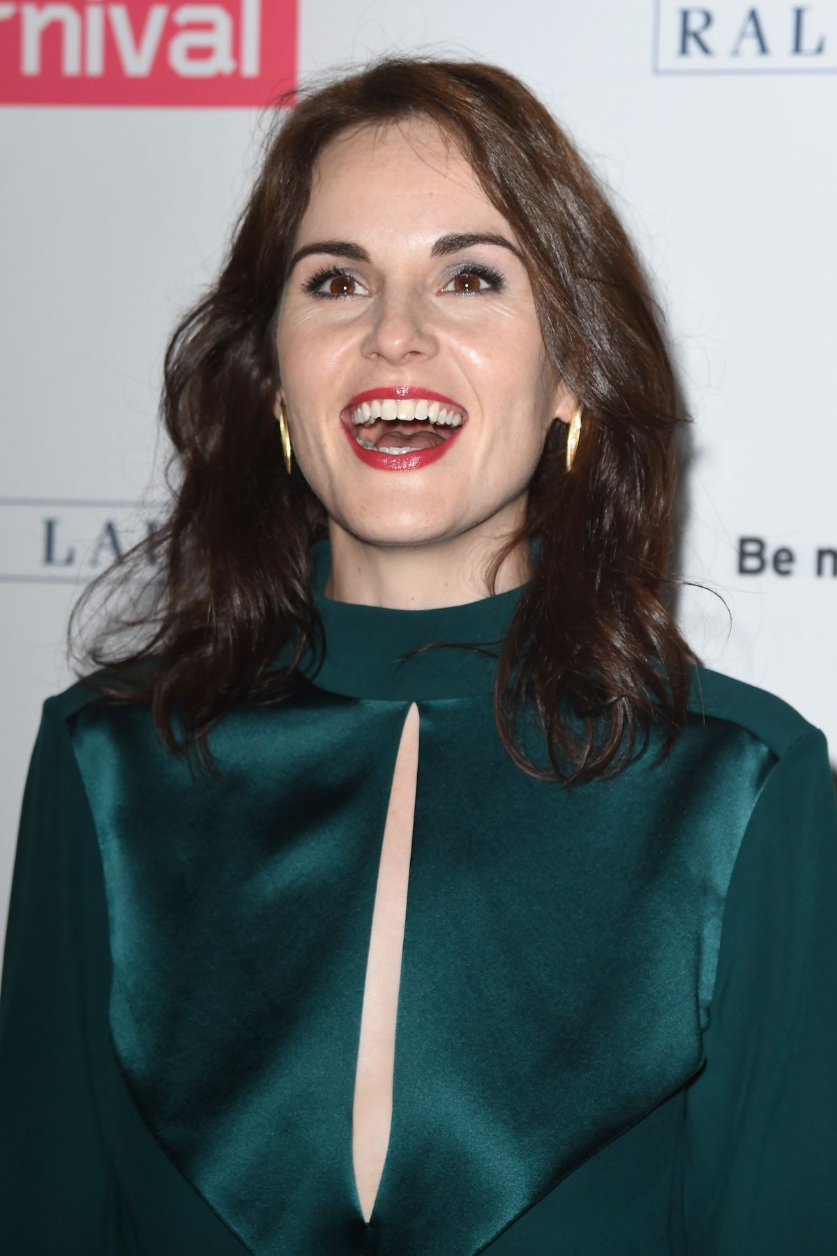 MICHELLE DOCKERY at Downton Abbey Photocall in Beverly Hills