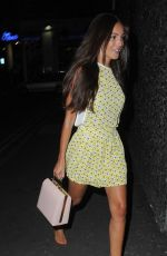 MICHELLE KEEGAN Night Out in Manchester 07/30/2015