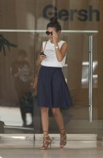 MICHELLE KEEGAN Out and About in Beverly Hills 08/05/2015