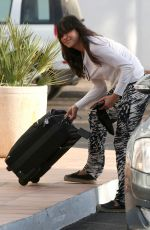 MICHELLE RODRIGUEZ Arrives at Her Hotel in Ibiza 08/02/2015
