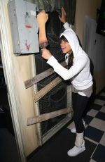 MICHELLE RODRIGUEZ at Treyarch Studios Playing Black Ops 3 08/19/2015