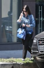 MICHELLE TRACHTENBERG Out and About in West Hollywood 08/05/2015