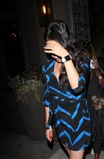 MILA KUNIS Leaves Toca Madera Restaurant in Beverly Hills 08/24/2015