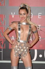 MILEY CYRUS at MTV Video Music Awards 2015 in Los Angeles