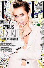 MILEY CYRUS in Elle Magazine, UK October 2015 Issue