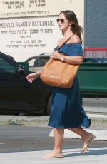 MINKA KELLY Out and About in West Hollywood 08/21/2015