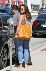 MINKA KELLY Out Shopping in Beverly Hills 08/04/2015