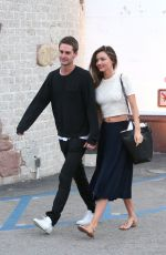 MIRANDA KERR Out and About in Malibu 08/03/2015