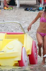 MYLEENE KLASS in Bikini at a Boat in Ibiza 07/28/2015