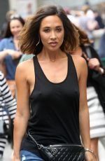 MYLEENE KLASS Out and About in London 08/11/2015