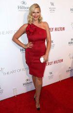 NATASHA HENSTRIDGE at Beverly Hilton 60 Years Diamond Anniversary Party