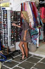 NICKY HILTON Night Out in Mykonos 08/22/2015