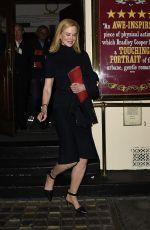 NICOLE KIDMAN Leaves Royal Haymarket Theatre