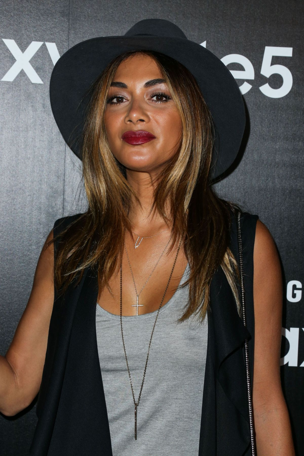 NICOLE SCHERZINGER at Samsung Galaxy S6 Edge+ and Note 5 Launch in ... Nicole Scherzinger