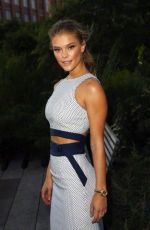 NINA AGDAL at Stylewatch x Revolve Fall Fashion Party in New York