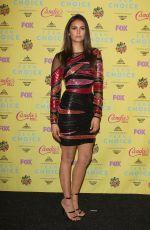 NINA DOBREV at 2015 Teen Choice Awards in Los Angeles