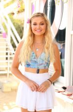 OLIVIA HOLT at 18th Birthday Party Hosted by Nintendo in Malibu 08/17/2015