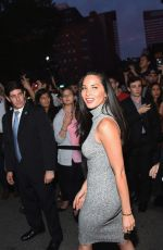 OLIVIA MUNN at Final Taping of The Daily Show with Jon Stewart in New York
