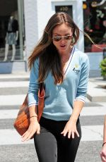 OLIVIA WILDE Out and About in Los Angeles 08/19/2015