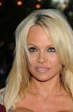 PAMELA ANDERSON at Hidden Heroes Gala Presented by Mercy for Animals