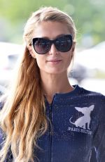 PARIS HILTON Arrives at Her Hotel in Lodz 08/28/2015