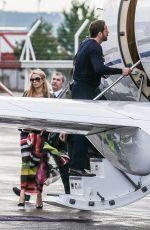 PARIS HILTON at Airport in Zurich 08/14/2015
