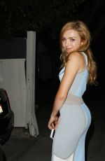 PEYTON LIST Arrives at Teen Vouge Dinner Party in Los Angeles 08/05/2015