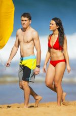 PHILIPPA NORTHEAST in Bikini on the Set of Home & Away in Sydney 08/17/2015