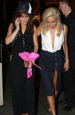 PIXIE LOTT Leaves Boujis Nightclub in West London 08/16/2015
