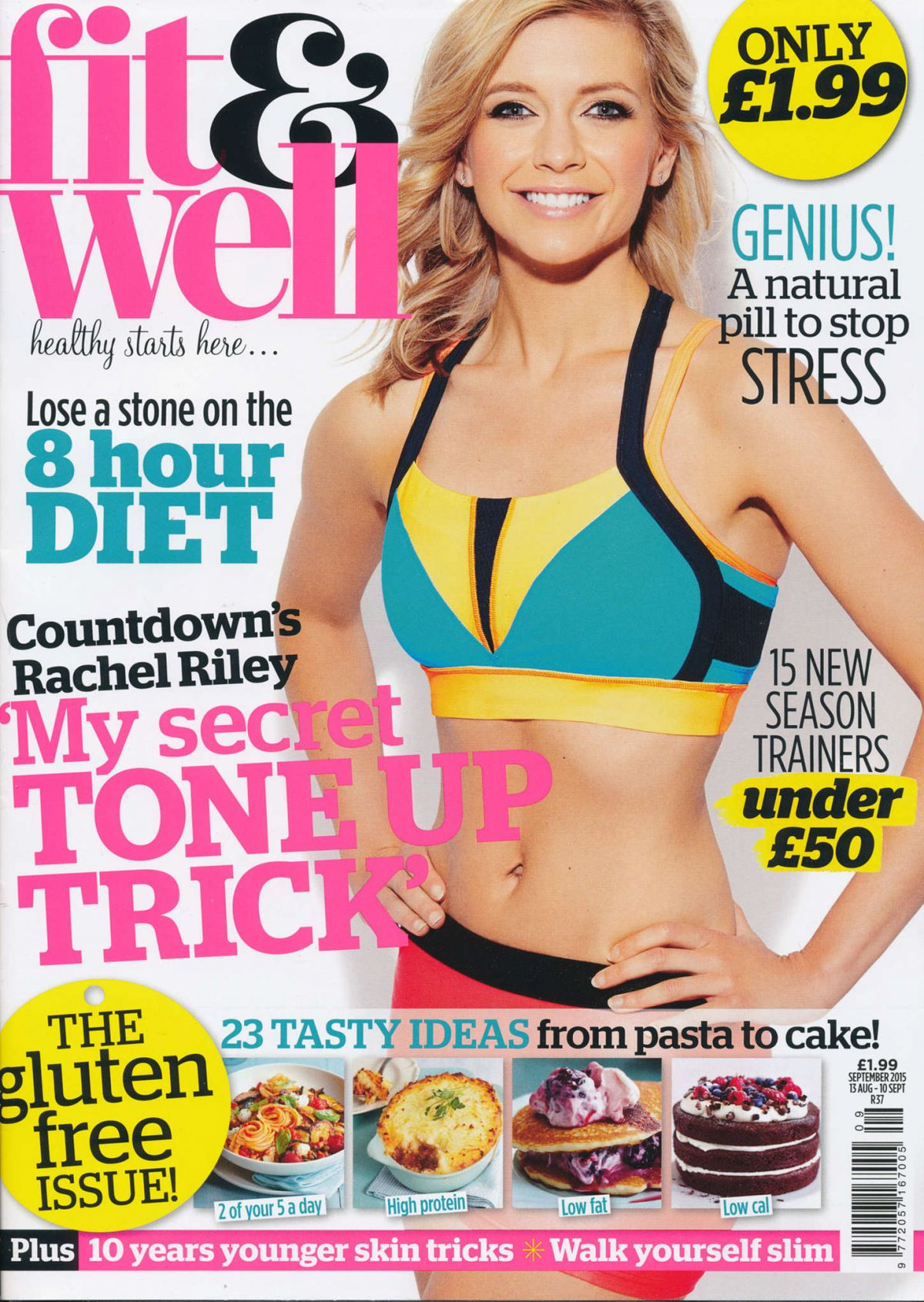 RACHEL RILEY in Fit and Well Magazine, September 2015 Issue