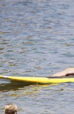 REBECCA GAYHEART in Bikini at a Beach in Malibu 08/22/2015