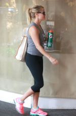 REESE WITHERSPOON Arrives at a Gym in Brentwood 08/03/2015