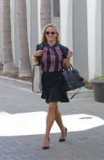 REESE WITHERSPOON in Skirt Out in Los Angeles 08/28/2015