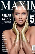 RENAE AYRIS in Maxim Magazine, Australia September 2015 Issue
