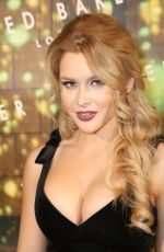 RENEE OLSTEAD at Ted Baker London Launch Party in Los Angeles 08/12/2015