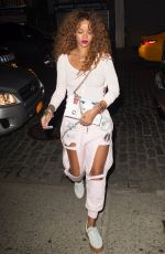 RIHANNA Night Out in New York 08/12/2015