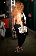 RIHANNA Night Out in New York 08/13/2015
