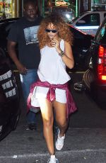 RIHANNA Night Out in New York 08/28/2015