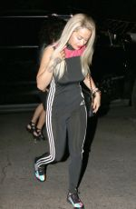 RITA ORA Arrives at Chateau Marmont in West Hollywood 08/20/2015