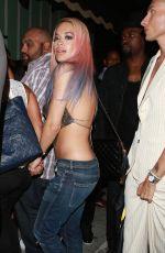 RITA ORA Arrives at The Warwick Nightclub in Hollywood 08/19/2015