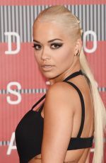 RITA ORA at MTV Video Music Awards 2015 in Los Angeles