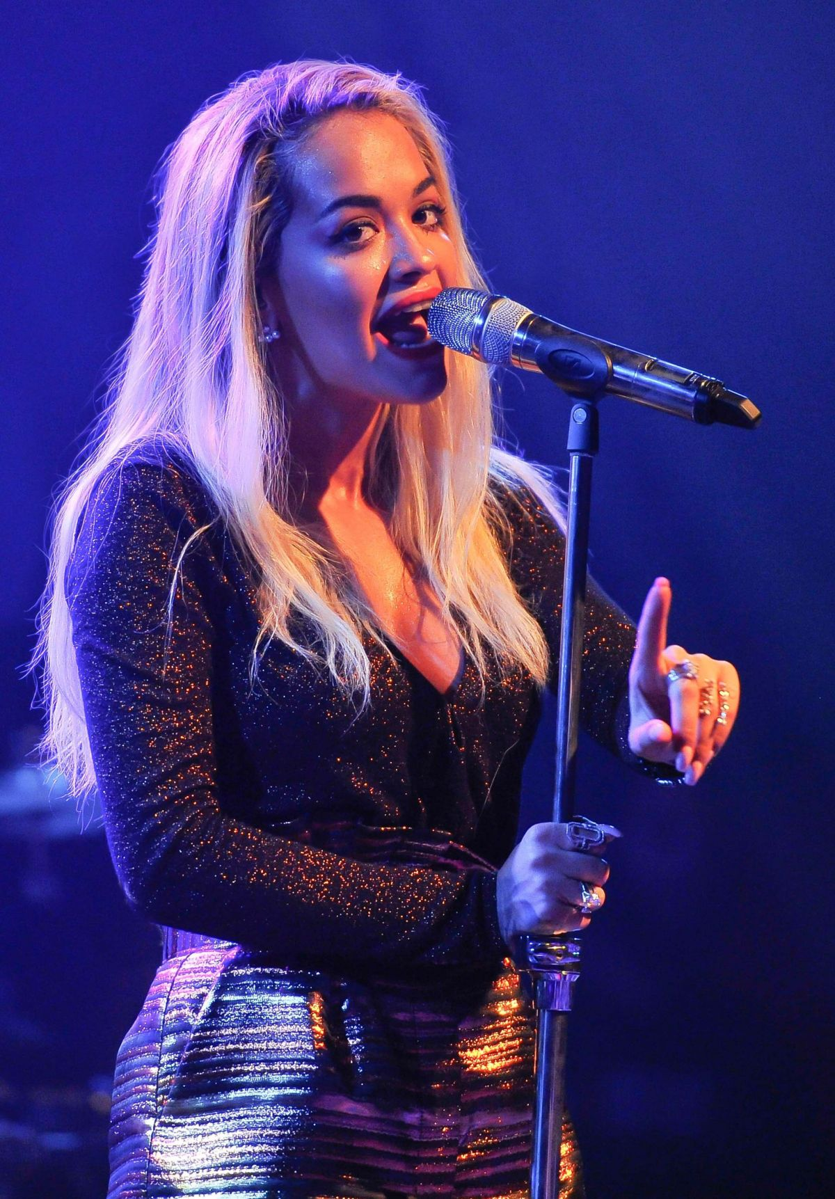 RITA ORA at U.S. Tour Opener in San Francisco 08/25/2015