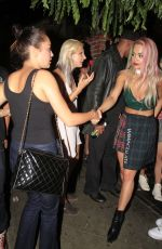 RITA ORA Leaves The Abbey in Los Angeles 08/28/2015