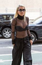RITA ORA Out and About in New York 08/11/2015